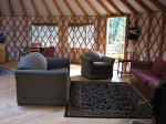 Yurt Living Room